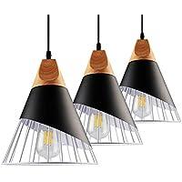 B2ocled Pendant Light Kit, E26/E27 Lamps and Pendant...
