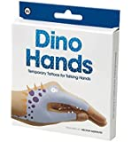 NPW Dino Hands Temporary Tattoos (8 Count)