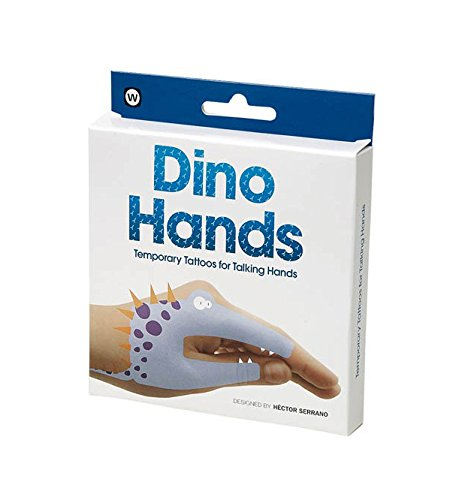 NPW Dino Hands Temporary Tattoos (8 Count) by NPW (Image #3)