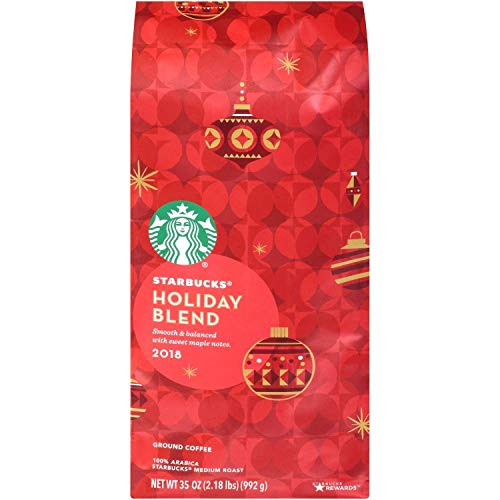 Starbucks Holiday Ground Coffee, Herbal & Sweet, 35 Ounce