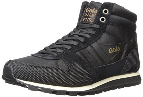 Gola Ridgerunner High Ii - Zapatillas Hombre Negro - Schwarz (Black/Black)