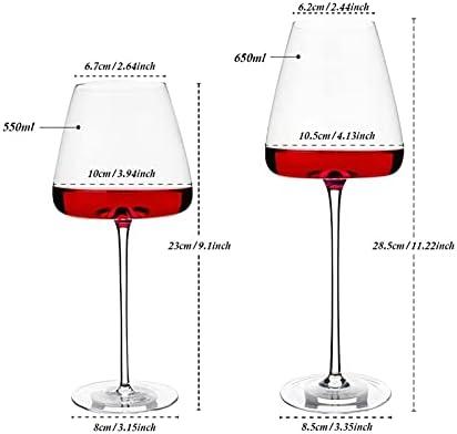 25 oz copas de vino Botella, taza de cristal de champán con sello de silicona, bebida directamente de la taza de gafas de botella, para escocés, whisky, licor y cócteles Jsmhh (Size : 650ml)