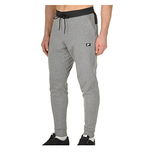 Nike Mens Modern Jogger Light Weight Pants Carbon Heather/Black 832172-091 Size Medium