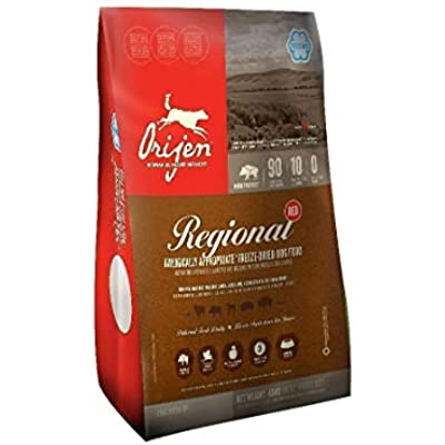 Orijen Freeze-Dried Regional Red Formula, Dog Food, 6 Ounces