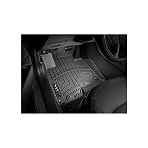 WeatherTech DigitalFit™ Molded Floor Liners (1st Row, Black) 442921