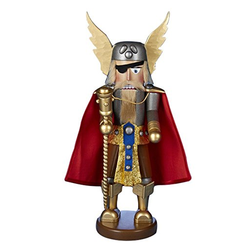 2015 Signed Karla Steinbach *Viking* Nutcracker 1st in Kurt Adler Limited Edition Warriors Series