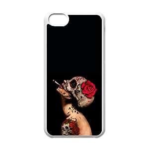 Viva La Muerte Iphone 5C Cell Phone Case White DAVID-332212