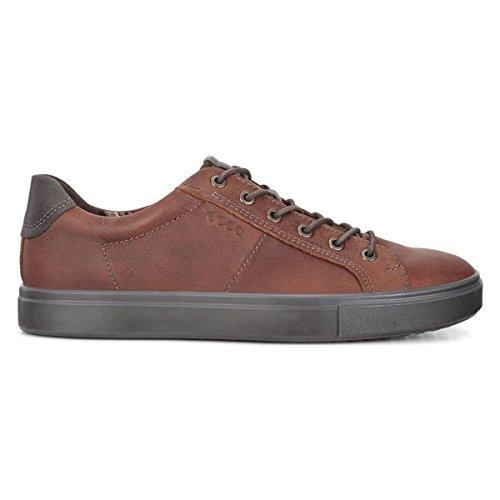 ECCO Men's Kyle Street Tie Fashion Sneaker, Cognac, 44 M EU / 10-10.5 D(M) US