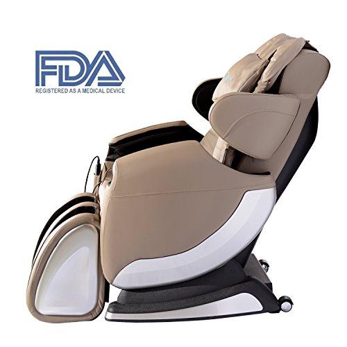 Tenive Zero Gravity Full Body Shiatsu Massage Chair Recli...