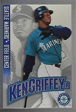5c8c9573dc Amazon.com: Ken Griffey Jr. (Baseball Card) 1996 Nintendo Ken Griffey Jr. -  [Base] #KEGR: Collectibles & Fine Art
