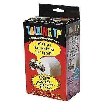 Talking Toilet Paper Spindle -