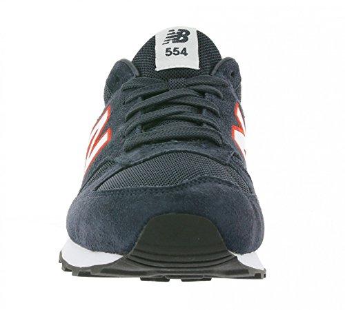 New Balance 554 hombres zapatilla de deporte azul ML554JR