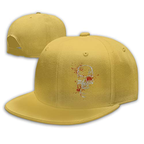 996ICU Baseball Cap Hat Skull Head Blood Adjustable Snapback Hip-hop Cap Womens Mens
