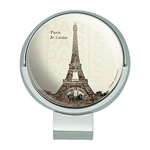 Graphics and More Paris, Je T'Aime I Love You Eiffel Tower City Map Golf Hat Clip with Magnetic Ball Marker