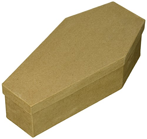 Craft Ped Paper CPLEC1337L Mache Box Coffin Large 10