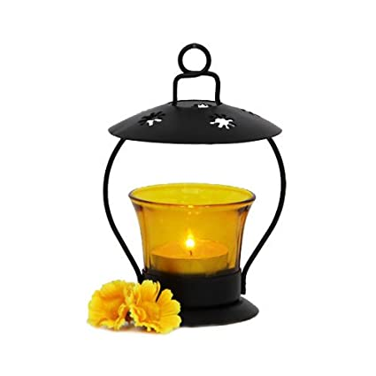 yellow t light lamp t light lamp 1 home décor gifts t lights