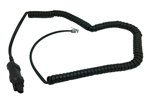 A10-16 Adapter Direct Connect Cable by AvimaBasics Compatible with Plantronics Headsets | Stretchable Durable Quick Connect & Disconnect Grips | for H-Series EncorePro Tristar Mirage Encore DuoSet