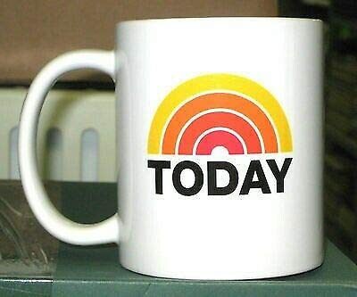 THE TODAY SHOW NBC LOGO Muqs 11OZ Coffee Mug