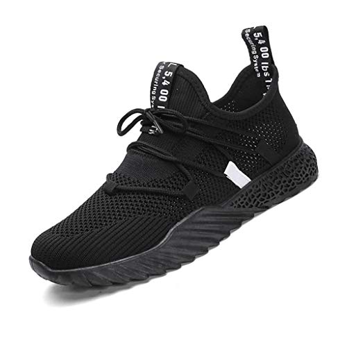 e74d0cf3a9bd9 JJLIKER Mens Mesh Cut Out Summer Cool Shoes Trainers Running Shoes Athletic  Sneakers Tennis Shoe Fashion for Walking