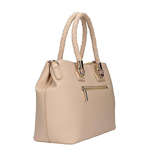 Liu Jo M 2 Zip Satchel Manhattan - Bolsos maletín Mujer Rosa