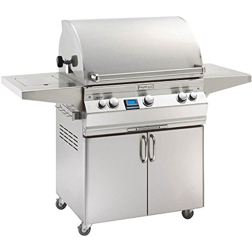 Fire Magic Aurora A660s Natural Gas Bbq Grill With Single Side Burner On Cart – A660s-5e1n-62
