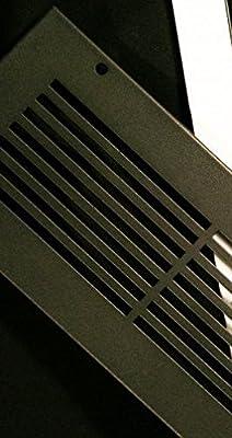 Modern Linear Powder Coated Steel Floor Air Registers and Air Return Grilles