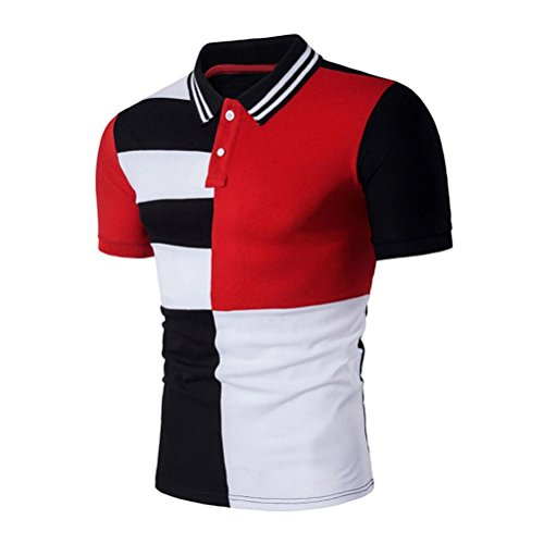Men's Tee,Neartime Sports Short Sleeve Polo Shirt Slim T-shirts Tops