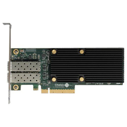 Chelsio T520-SO-CR Network Adapter PCI Express 3.0 X8 Fibre Channel Over Ethernet (Fcoe) by Chelsio