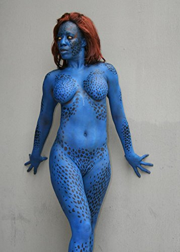 Gifts Delight Laminated 24x33 Poster: Cosplay of Mystique -