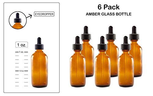 eye dropper glass medicine bottle