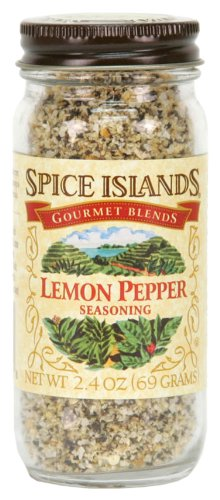 - Spice Islands Lemon Pepper Seasoning, 2.4-Ounce (Pack of 3)