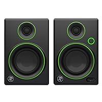 Mackie Studio Monitor negro con ribete verde de 3 pulgadas CR3