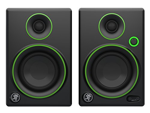 (Mackie Studio Monitor, Black w/green trim, 3-inch (CR3))