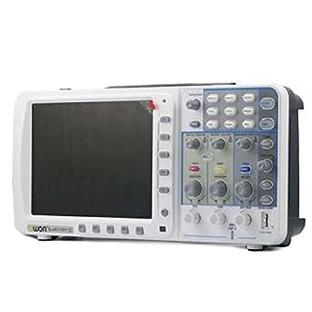"""Owon SDS - Oscilocopio de pantalla grande (8"""", 100mhz, 7102 V, 1g/s), con 3 años de garantía y bolsa de regalo"""