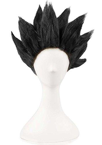 Etruke Anime Dragon Ball Z Goku Halloween Cosplay Perücke schwarz