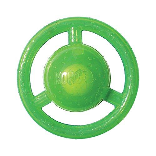 Classic Toy Dog (KONG Jumbler Disc Dog Toy, Medium/Large)