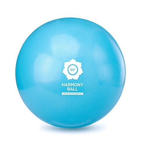 HARMONY BALL air Gymnastikball / Pilatesball / Faszienball / Yogaball - 22 cm - phthalatfrei - aquablau - berstsicher