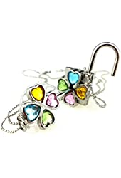 Shugo Chara 4 Color Lock and Key Necklace