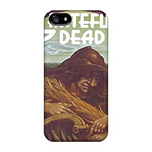 Shock Absorption Hard Phone Cases For Iphone 5/5s With Unique Design Colorful Grateful Dead Series JoanneOickle