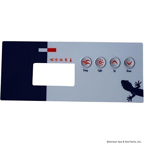 Gecko 9916-100218 TSC-19-GE1 4-Button Spa Control Panel Overlay by GECKO ()