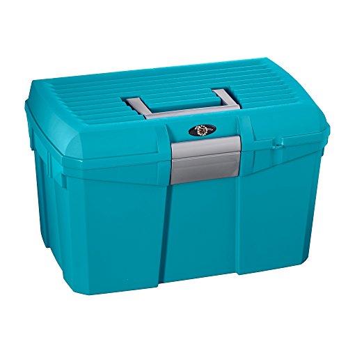 Price comparison product image ProTack Medium 168 Grooming Box (One Size) (Capri Breeze Blue / Silver)