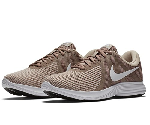 NIKE Mens Revolution 4 Running Shoe Sepia Stone/ Summit White BSn4E7wH