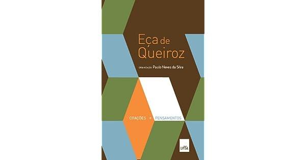 Citações E Pensamentos De Eça De Queiroz 9788580441161 Livros Na