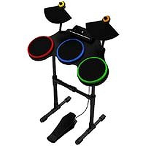 Activision Wireless Drum Kit Set for Guitar Hero World Tour / Band (Wireless Guitar Drums)