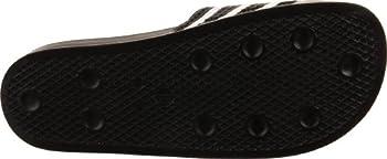 Adidas Originals Men's Adilette Slide Sandal,blackwhiteblack,7 M Us 2