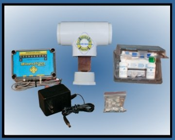 Deluxe Electronic Copper/Silver Ion Purification System for Pool and Fountains up to 25k Gallons by Lifeguard Systems