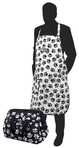 Wahl Paw Print Grooming Bag and Apron Set 1
