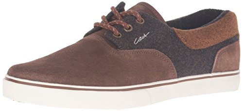 C1RCA Men's Valeo SE Skateboarding Shoe, Tobacco/Brown, 6.5 M US