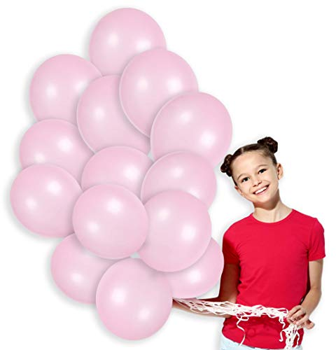 Light Pink Metallic Pastel Balloons Kit Decorations for Unicorn Birthday Girls Baby Shower Party Balloons Arch 100 Pack