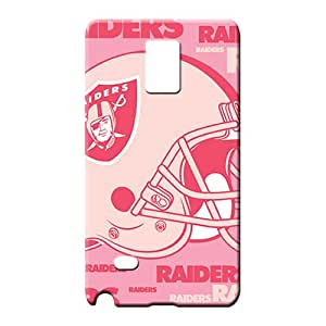 samsung note 4 First-class High-end Skin Cases Covers For phone cell phone carrying skins oakland raiders nfl football